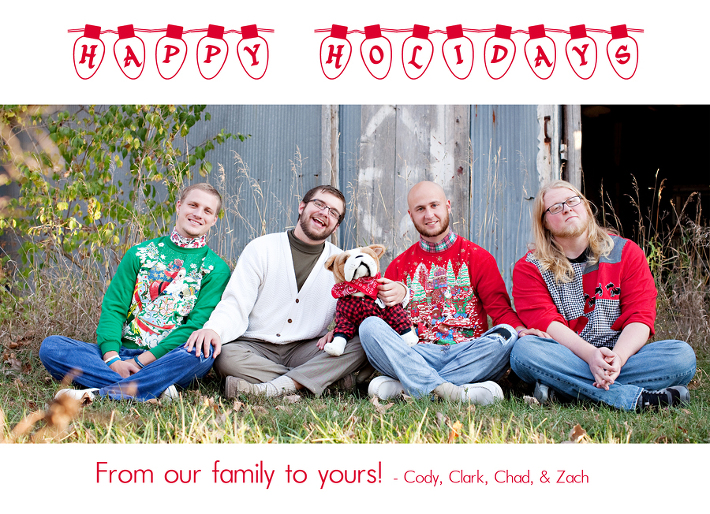 A Belated Christmas Greeting » Courtney